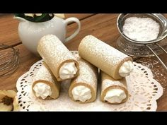 Cannoli, Ricotta, Penne, Food To Make, Biscuits, Sweets, Cookies, Ethnic Recipes, Desserts