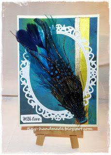 Trzy kartki na trzy okazje Wreaths, Halloween, Cards, Handmade, Decor, Hand Made, Decoration, Door Wreaths, Deco Mesh Wreaths