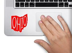 State Name Ohio Keypad Computer Laptop Symbol Decal Family Love Car Truck Sticker Window Red *** Continue to the product at the image link.Note:It is affiliate link to Amazon.
