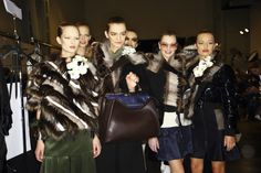 Fendi fall 2014 - behind the scenes