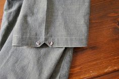 Quick tutorial showing how to achieve this short sleeve shirt trim