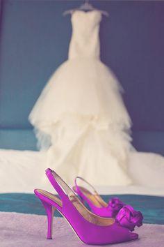 Magenta Wedding Shoes Keywords: #weddings #jevelweddingplanning Follow Us: www.jevelweddingplanning.com  www.facebook.com/jevelweddingplanning/