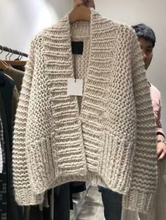 Find many great new & used options and get the best deals for Womens Lazy Style Chunky Knitted Loose Oversize Sweater Cardigans Outwear 2019 at the best online prices at eBay! Free shipping for many products! Chunky Knit Cardigan, Sweater Cardigan, Chunky Knits, Chunky Oversized Sweater, Loose Knit Sweaters, Pullover Sweaters, Cardigan Outfits, Knit Crochet, Sweaters For Women