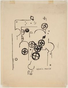 Francis Picabia 'Alarm Clock', 1919 © ADAGP, Paris and DACS, London 2015