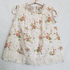 A personal favorite from my Etsy shop https://www.etsy.com/listing/242020861/unique-handmade-baby-dress-floral-print