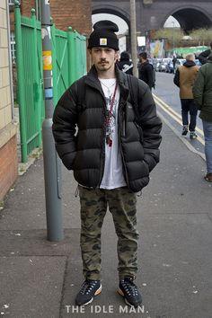 Men's Street Style - Casual Winter
