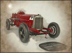 3081 Car Alfa Romeo RL Targa Florio 1924 Museum Modena Enzo Ferrari 2014 S 2338 Modena2