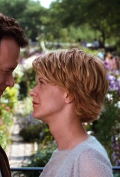"Meg Ryan's hair in ""You've Got Mail"""