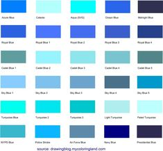 Shades of teal blue shades of blue shades of teal blue paint . shades of teal blue light blue paint Light Blue Color Code, Types Of Blue Colour, Purple Color Names, Different Blue Colors, Teal Paint Colors, Teal Color Schemes, Blue Shades Colors, Purple Color Palettes, Shades Of Light Blue