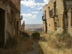 Abandoned villages in Italy - Poggioreale, Trapani, Sicily