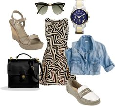"""""""Black and tan"""" by azuredizzle on Polyvore"""