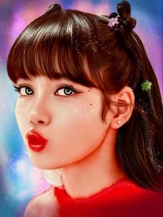 Please visit my youtube channel 💗 Lisa Blackpink Wallpaper, Cute Wallpaper Backgrounds, Cute Wallpapers, Blackpink Lisa, Pink Drawing, Blank Pink, Blackpink Poster, Aesthetic People, Beautiful Nature Wallpaper