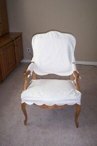 Slipcovers For Wood Arm Chairs