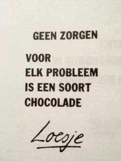 Chocolade... ♥