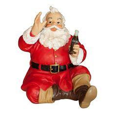 Coca-Cola Sundblom Sitting Santa