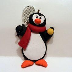 Ornament - Tennis Penguin