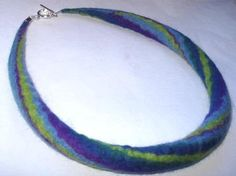Felt Tube Necklace