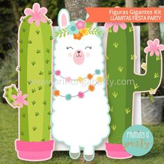 Llama Birthday, Third Birthday, Diy Birthday, Birthday Parties, Cumpleaños Diy, Picnic Decorations, Fiestas Party, Horse Treats, Free Frames