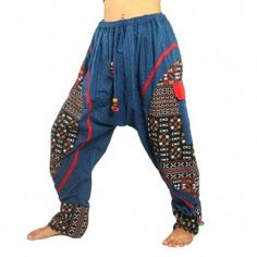 Sarouel hippie avec des leggings