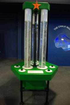In tech science museum