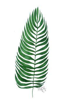 leaf plakat - MargoHupert - Plakaty typograficzne