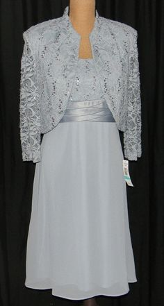 NWT Light Blue Dressy Dress Mother of the Bride R & M Richards Retail $110 in Clothing, Shoes & Accessories, Wedding & Formal Occasion, Mother of the Bride | eBay