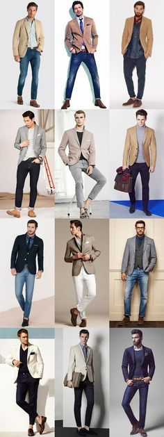 Business Casual Men – Top 5 Street Style Looks From New York Fashion Week: Look The Tan Blazer Look… Fashion Mode, New York Fashion, Mens Fashion, Fashion Trends, Blazer Fashion, Urban Fashion, Beige Blazer Outfit, Trendy Fashion, Blazer Outfits Men