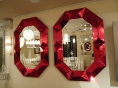 red mirrors