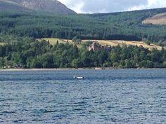 Nordsee mit Schloß Schottland.??