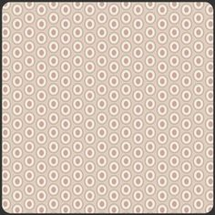 fabric, by Pat Bravo - Oval Elements - Oval Elements in Cappuchino