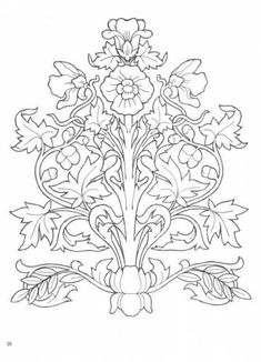 Coloring book Fairy land - art nouveau designs ~ Craft , handmade blog