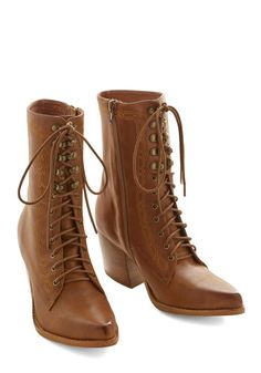 Womens Victorian Shoes and Boots for Sale  - Follow Your Path Boot $249.99 #victorian #civilwar