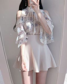 40 trendy clothes for korean fashion outfits gala fashion Kpop Fashion Outfits, Mode Outfits, Girly Outfits, Cute Casual Outfits, Pretty Outfits, Pretty Dresses, Stylish Outfits, Fashion Dresses, Korean Outfits Cute