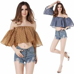 >> Click to Buy << Boho Women Off The Shoulder Shirts Ladies Long Sleeve Loose Blouse Tops Pullover #Affiliate