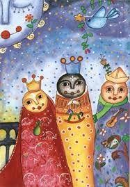 reyes magos ilustraciones