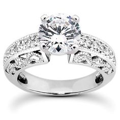 Fancy Antique Engagement Ring | Moijey Fine Jewelry and Diamonds