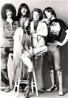70s, group, band, boots, fashion, vintage, inspiration