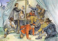 Carousing in camp - the Thirty Years' War in Germany