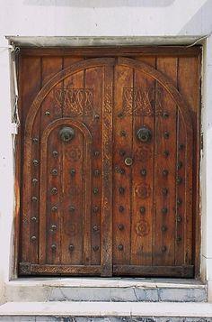 Old doors, great workmanship.