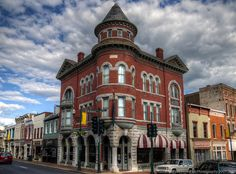 The Marquis Building on Flickr. - The majestic Marquis Building in downtown Staunton, a well-preserved piece of Victorian architecture built in 1899.