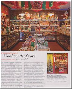 Inspiration for display shelves. Woolworth of yore display.