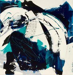 """Céline Weber, """"Deep"""" Acrylic 50X50cm on ArtStack #celine-weber #art"""