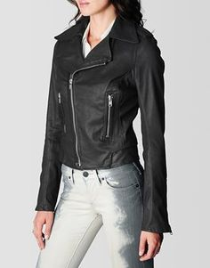 True Religion Moto Womens Jacket
