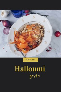 Halloumi, Stew, Vegetarian Recipes, Oatmeal, Breakfast, Food, The Oatmeal, Morning Coffee, Rolled Oats