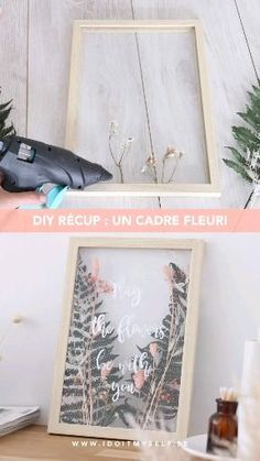 Diy Crafts For Home Decor, Diy Wall Decor, Diy Crafts To Sell, Wood Crafts, Cuadros Diy, Creation Deco, Diy Frame, Diy Art, Diy Gifts