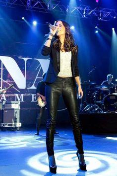 Jana Kramer New Boyfriend >> Jana Kramer black leather leggings WAAAAAANT   My Style in 2018   Pinterest   Jana kramer, Music ...