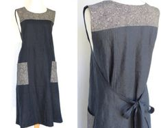 Women's wrap dress...this one! Lower the neckline and use a contrast binding/tie