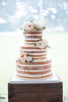 Erika Parker Photography | Brooke Casey Weddings | Naked Cake | Sweet Life Bakery | Stella Plantation | Wedding Inspiration | Wedding Cake | Destination Wedding | Southern Wedding