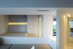 KIRKI'S WEEKEND APARTMENT   SYMPATHY #Bedroom #Architecture #Interiordesign #Mati #Attica #Greece #Kipseliarchitects