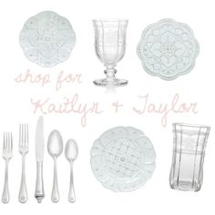 Kaitlyn Hadden and Taylor Adams - shop their registry @ http://www.charlestonstreet.com/registry.asp?action=view&id=1975
